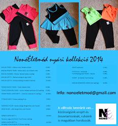 NonóÉletmód új KOLLEKCIÓ 2014