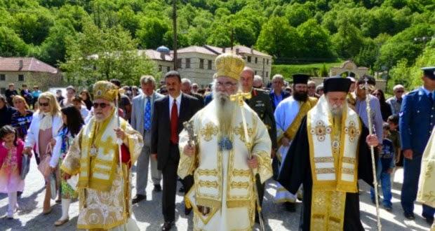 Λαμπρός ο εορτασμός της Αγίας Σοφίας της Κλεισούρας (ΦΩΤΟ & BΙΝΤΕΟ)