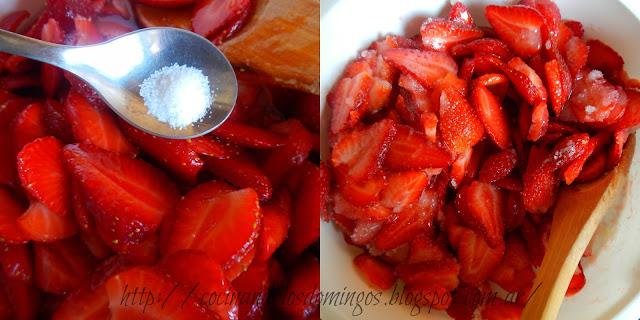 Torta Chiffon de fresas