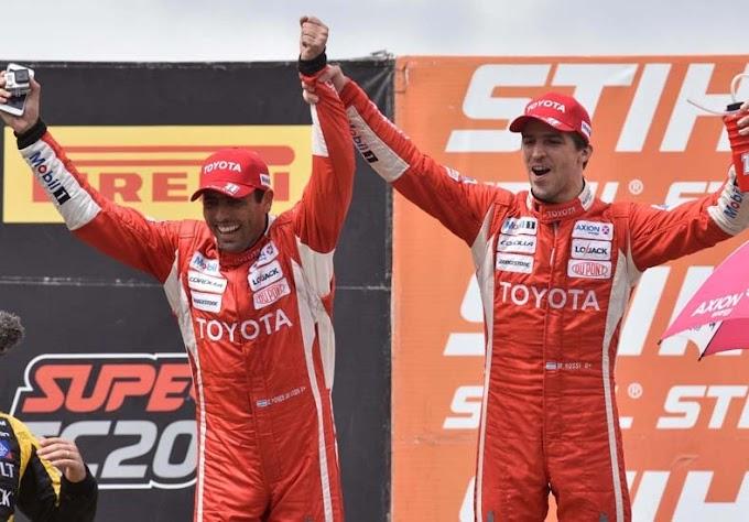 """Rossi y Ponce De León ganaron la carrera de los """"200 kilómetros"""""""