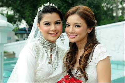 Perkahwinan Lisa Surihani Dan Shaheizy Sam (Gambar)