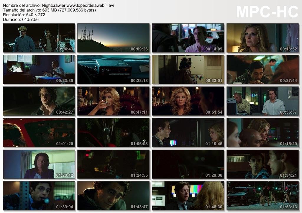 Nightcrawler (2014) DVDRip Latino
