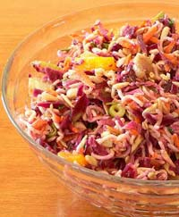 Weight Loss Recipes : Cabbage Noodle Salad
