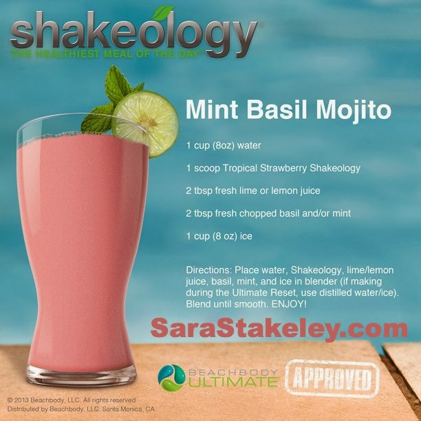 Mint Basil Mojito