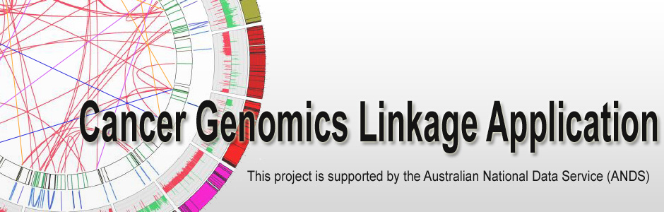 Cancer Genomics Linkage Application