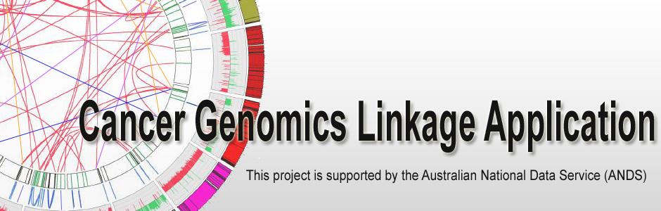 Cancer Genomics Linkage Application