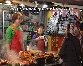 Sate Pedas Korea Selatan