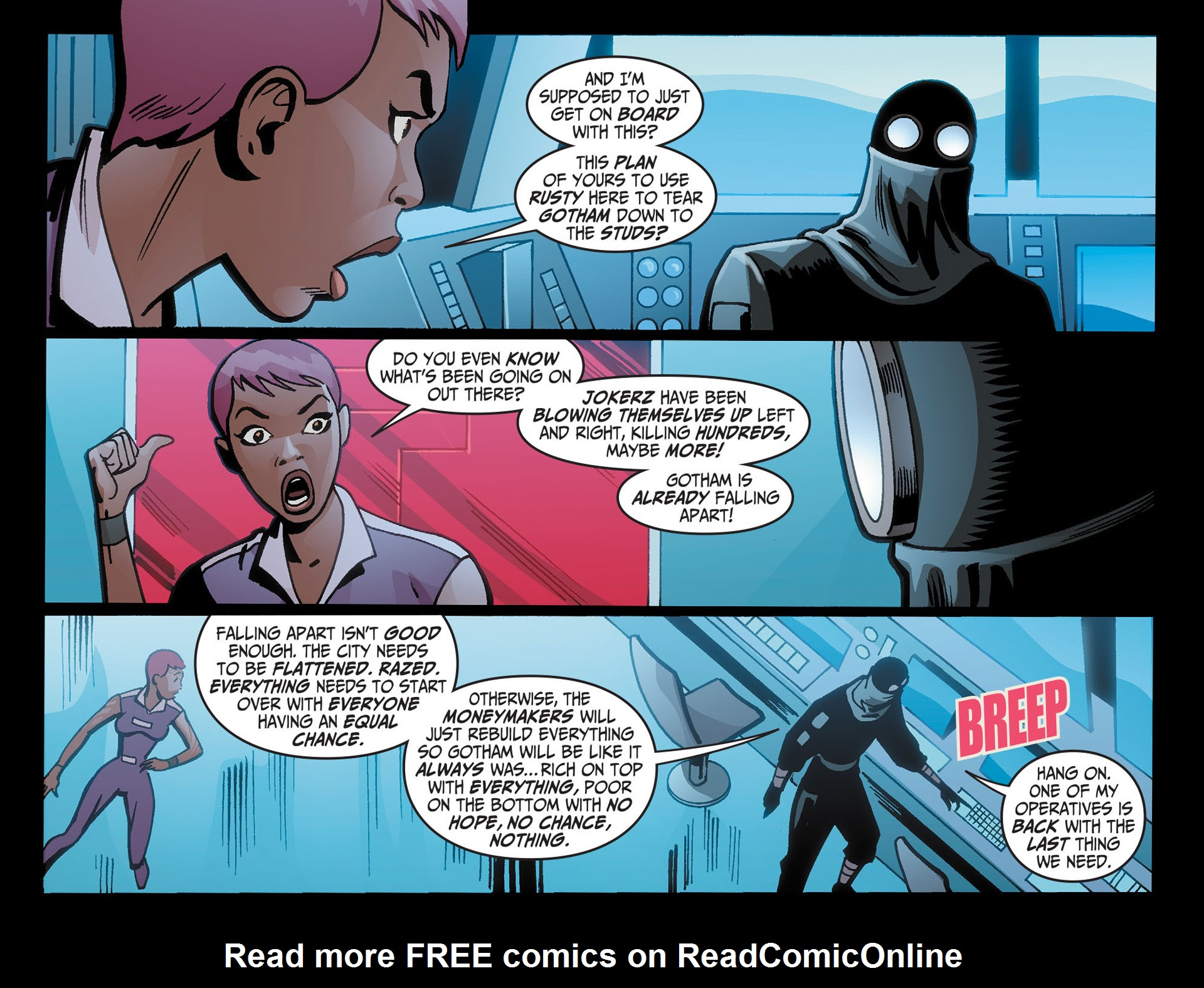 Batman Beyond (2012) Issue #21 #21 - English 5