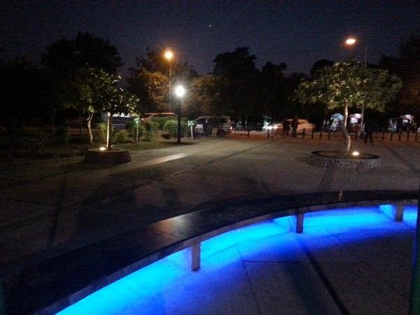 Sukhana Lake's Night View