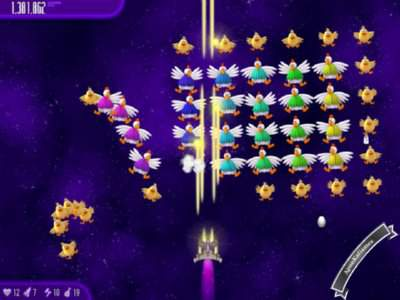 Chicken Invaders 4 Screenshots