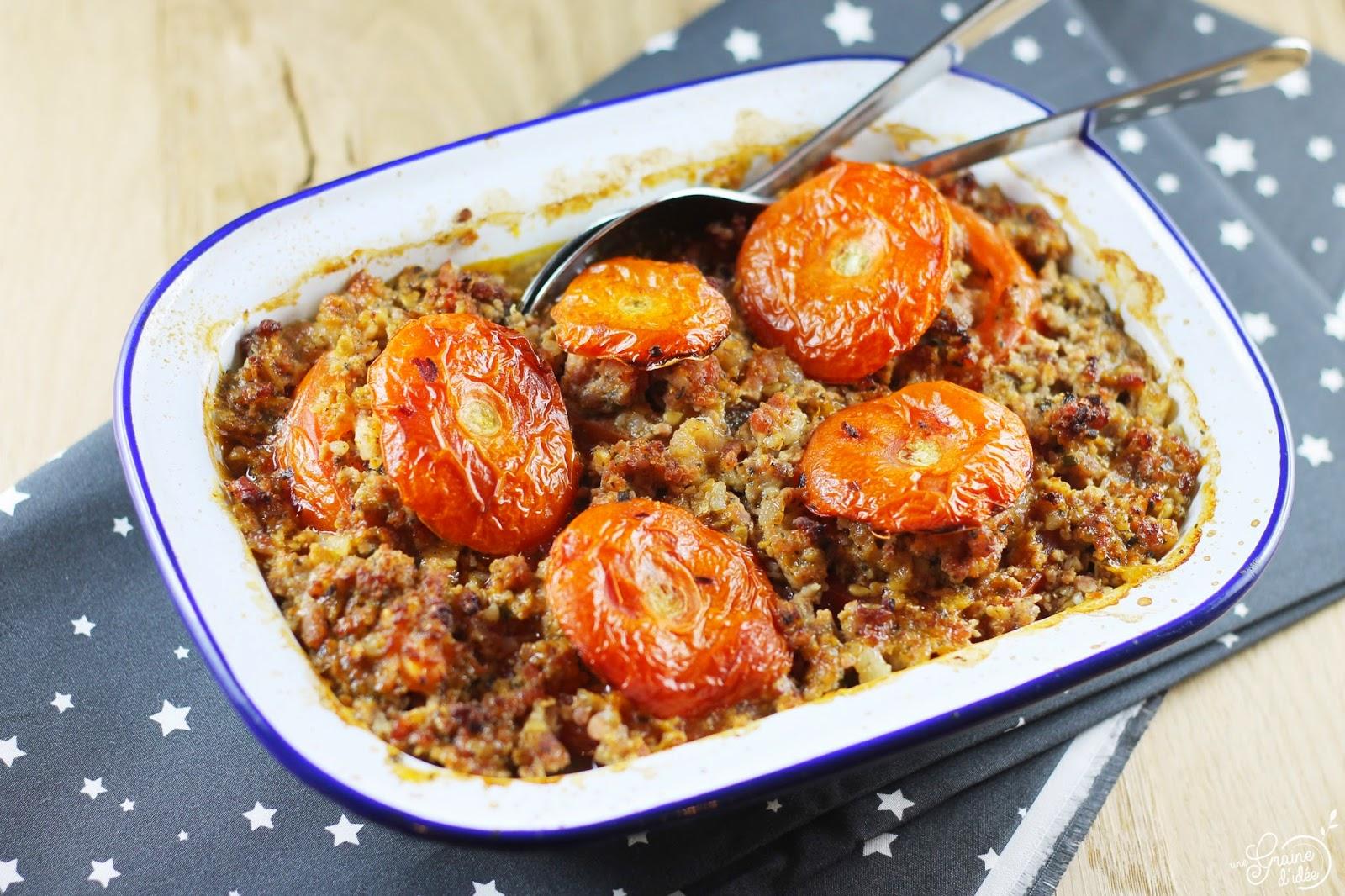 Tomates Farcies - Une Graine d'Idée