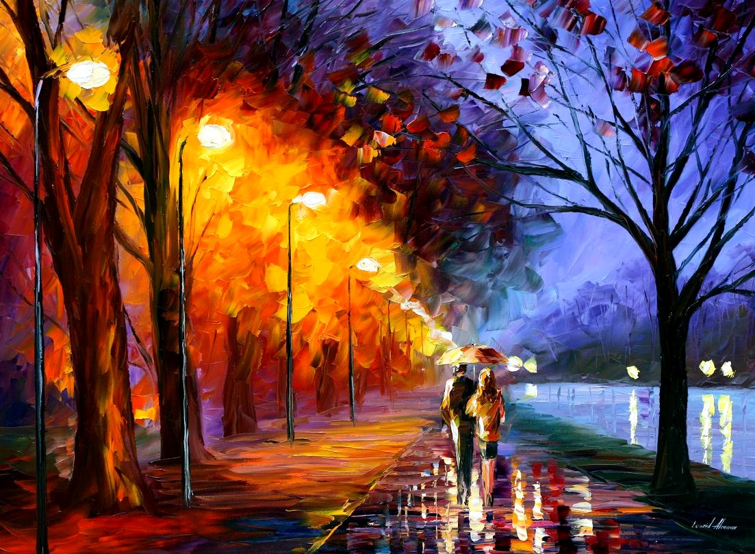 Romantical Love Painting