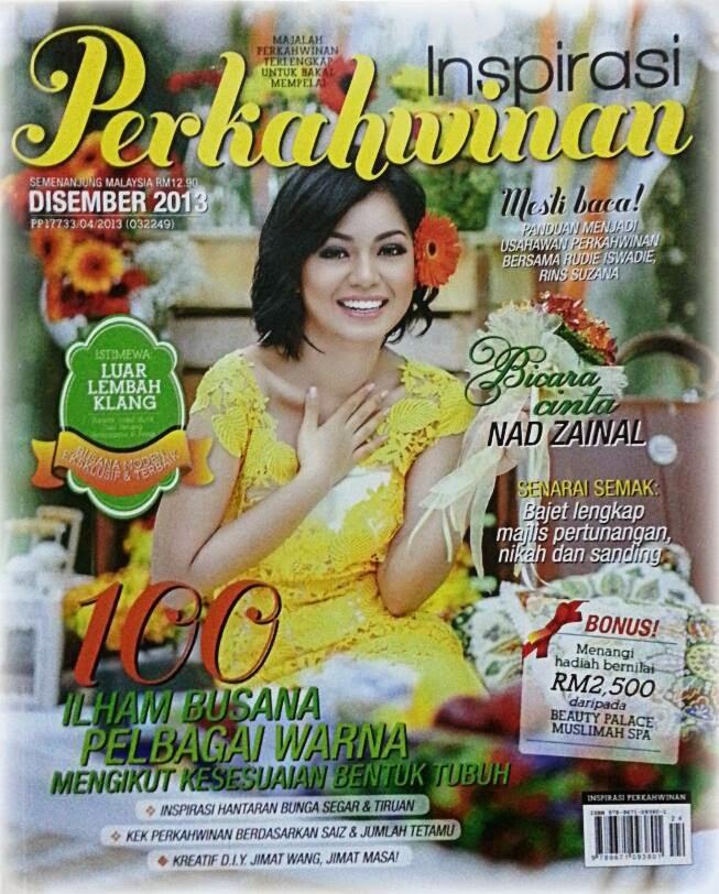 Inspirasi Perkahwinan Edisi Disember 2013