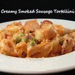 Creamy Smoked Sausage Tortellini