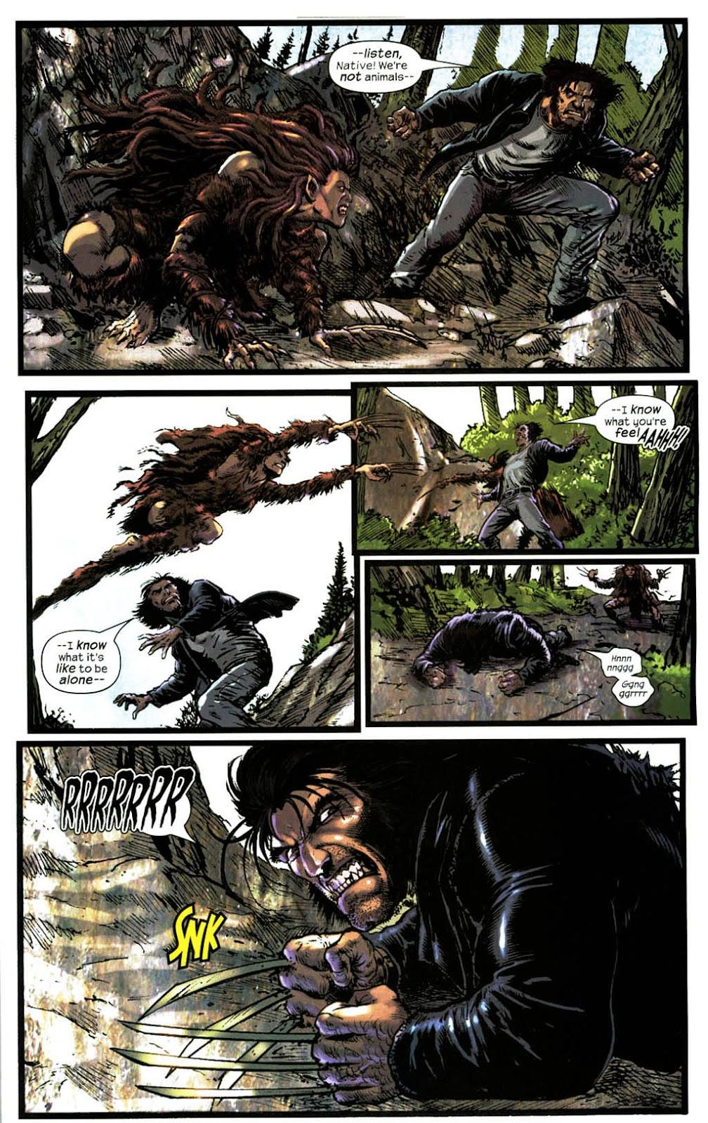 Read online Wolverine (2003) comic -  Issue #14 - 21