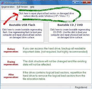 ScreenShot0072 হার্ডডিস্কের ব্যাড সেক্টর দূর করুন সহজেই