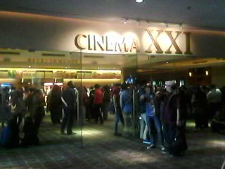 Pintu masuk Cinema XXI