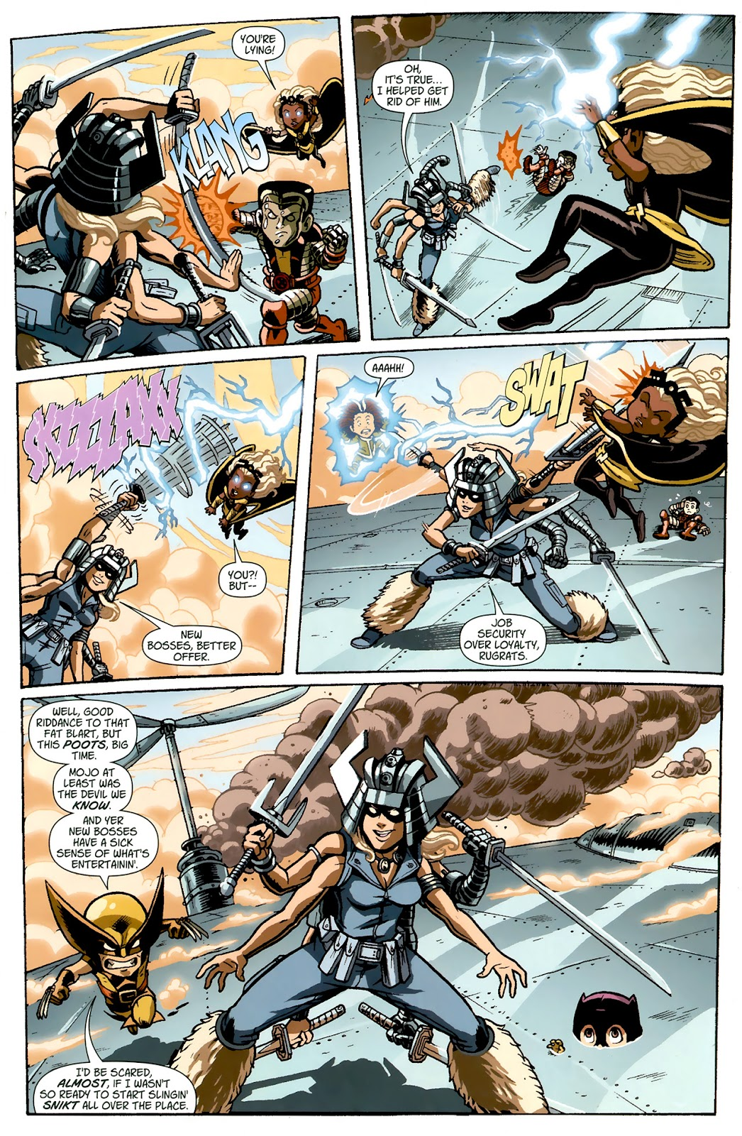 Read online X-Babies comic -  Issue #1 - 19