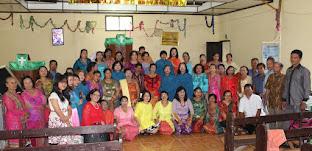 Wanita GKPS Salemba Kunjungan Pelayanan Ke GKPS Hutaimbaru