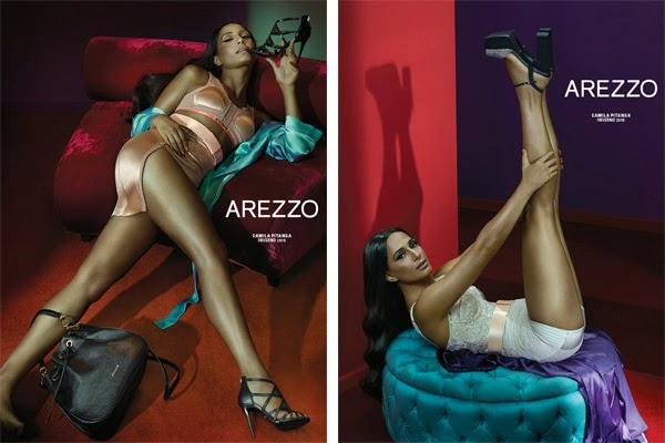 Arezzo coleção inverno 2015 bolsa e sandália de salto