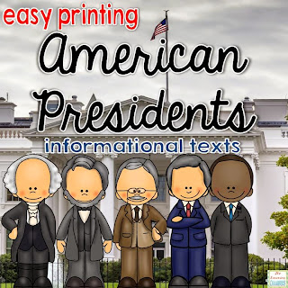 https://www.teacherspayteachers.com/Product/American-Presidents-Informational-Texts-Easy-Printing-1714415