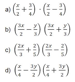 producto por diferencia de cuadrados polinomios