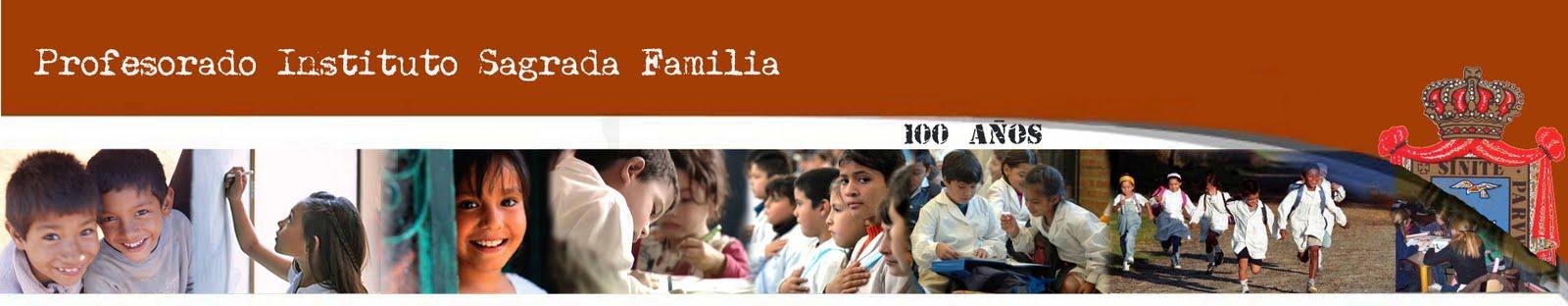 PROFESORADO SAGRADA FAMILIA