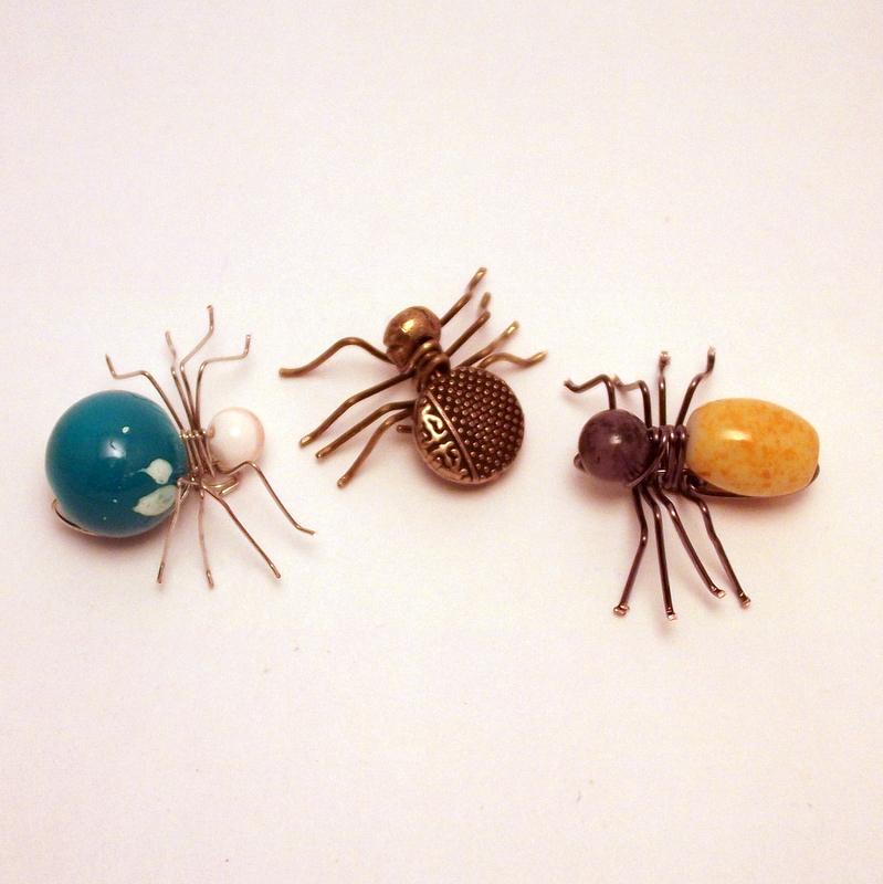 my laughing beaded spider tutorial