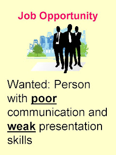 Poor Communication Skills job ad. George Torok
