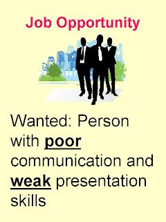 Poor Communication Skills job ad. George Torok