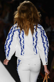 Rebecca Minkoff SS13 at NYFW hair styling
