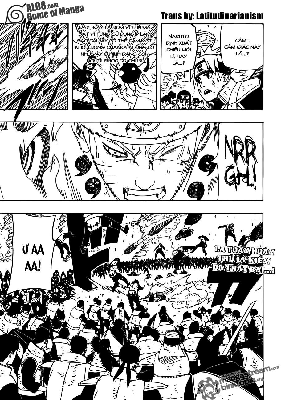 Naruto chap 555 Trang 1 - Mangak.info