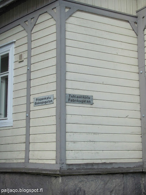 Turku: Piispankatu-Tehtaankatu