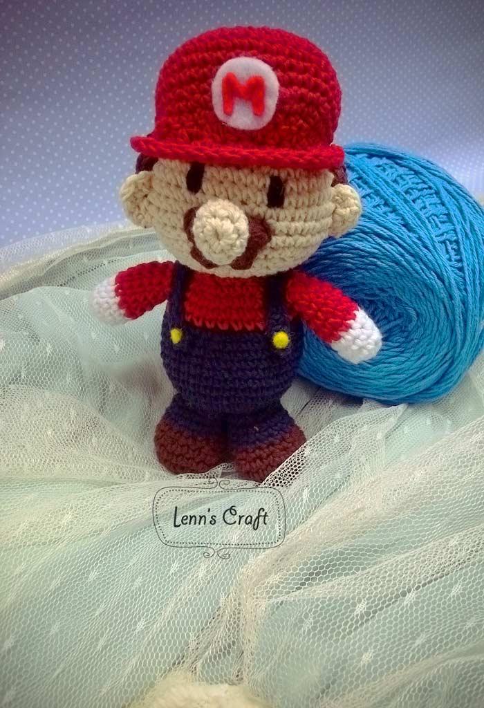 Lenns Craft ? Handmade doll? Amigurumi ? : Mario Bross ...