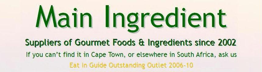 John & Lynne Ford's Main Ingredient MENU blogs