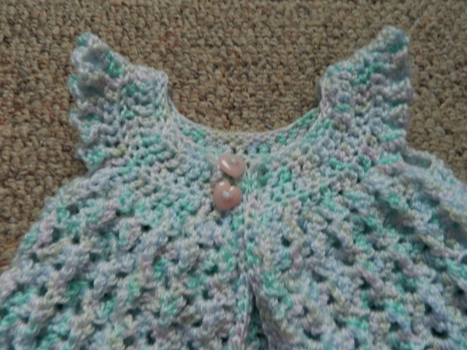 Bethany Sew-and-Sew: Crocheted Pinafore and Diaper Cover