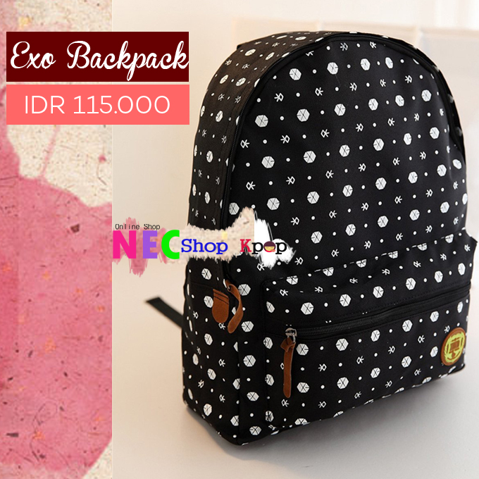http://eliansyunho.blogspot.com/2015/08/exo-logo-backpack.html