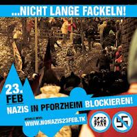 Nicht lange Fackeln! Naziaufmarsch in Pforzheim verhindern!