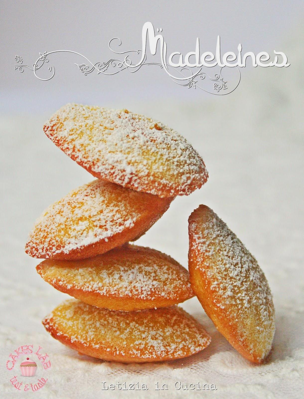 Letizia in Cucina: Madeleines - Cakes Lab