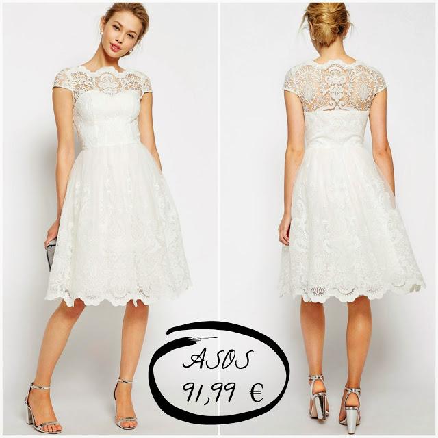 10 vestidos de novia low cost por menos de 250 euros - esencia trendy