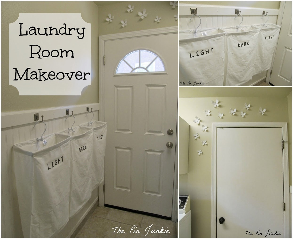 Diy laundry room makeover diy craft projects for Room makeover