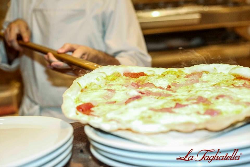 Pizza Tagliatella Thader