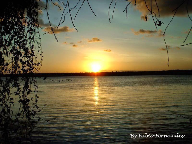 Pôr do Sol NO PARQUE MUNICIPAL TURÍSTICO DO JACARÉ - Cabedelo-PB - Foto: Fábio Fernandes