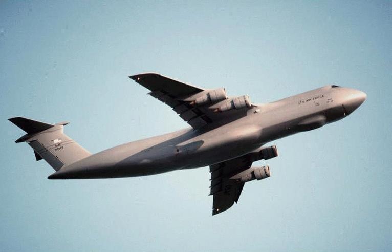 C-5 Galaxy Heavy-Cargo Aircraft