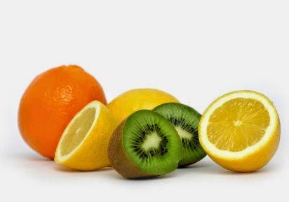 vitamina C nas frutas