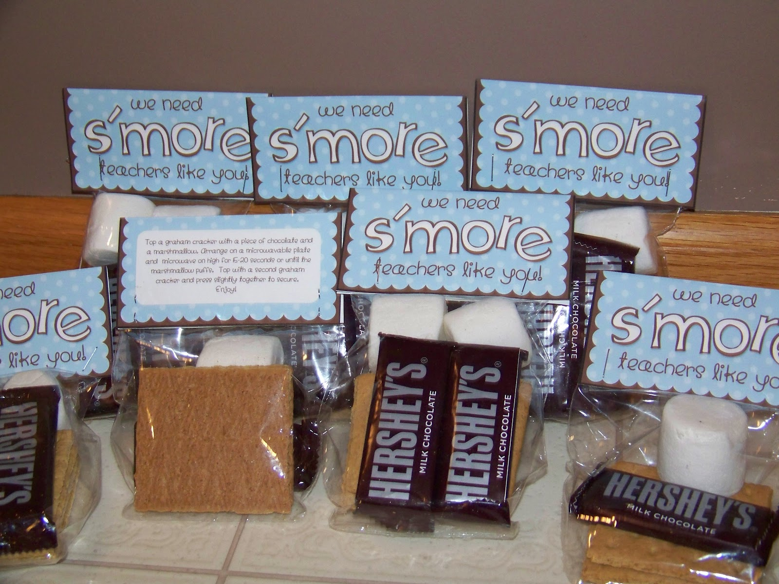 Adventures in Mommy-hood: Cute & Easy S'More Teacher Appreciation Gift