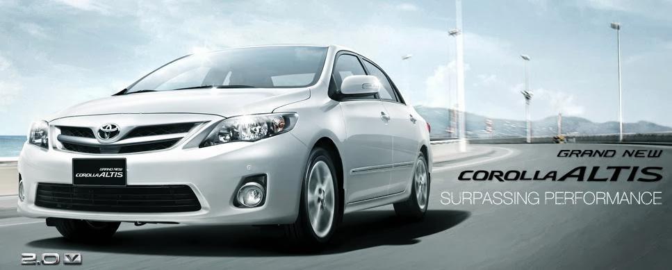 Toyota Altis Mobil Sedan Corolla