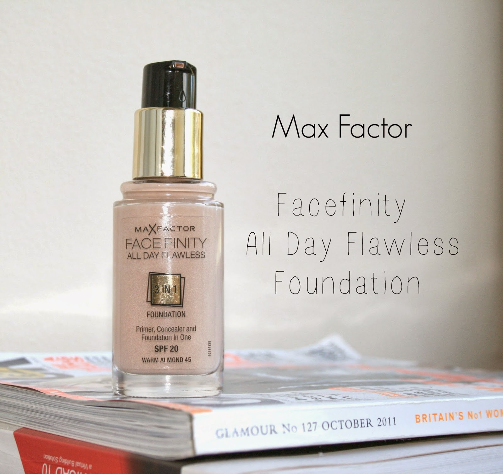 max factor foundations 3 in 1