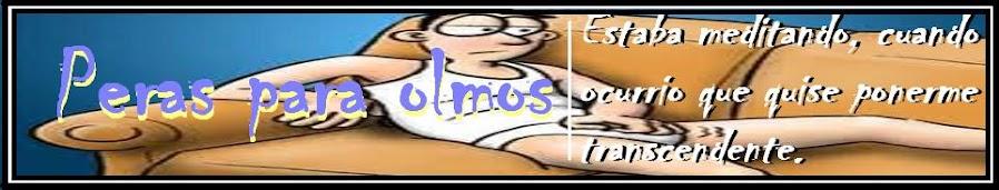 #Peras para Olmos