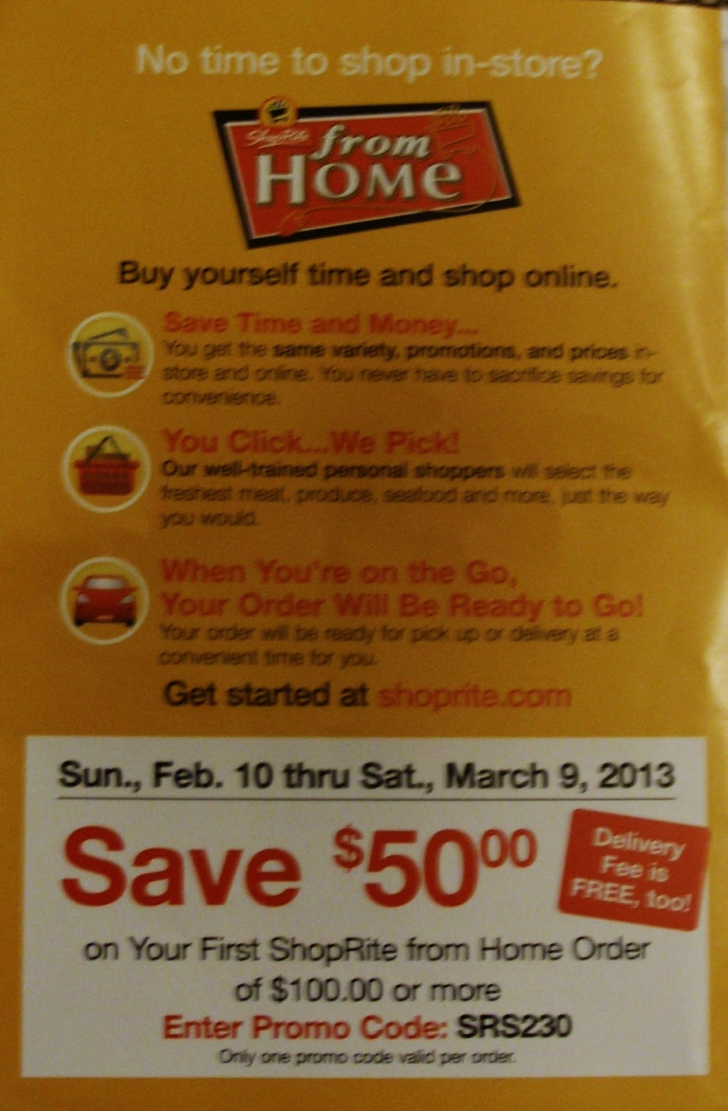 50 Off 100 Shoprite Shop From Home Slingerlands Ny Only